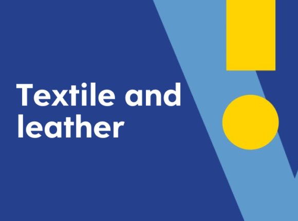 Apparel, textile and leather industry